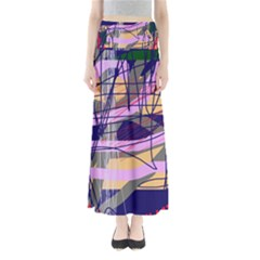 Abstract high art by Moma Maxi Skirts