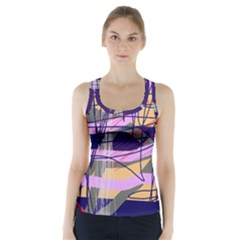 Abstract High Art By Moma Racer Back Sports Top