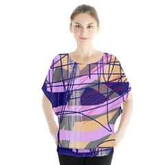 Abstract High Art By Moma Blouse