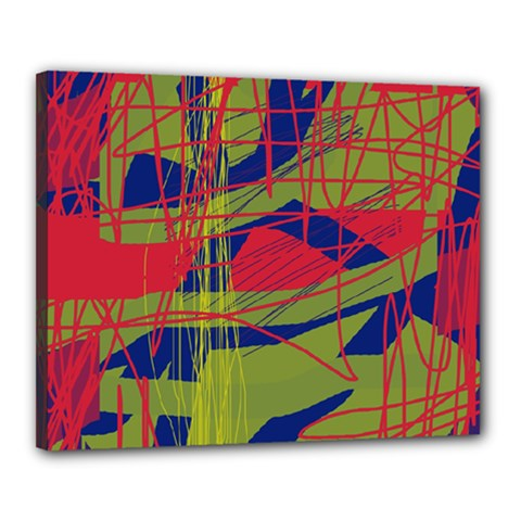 High art by Moma Canvas 20  x 16