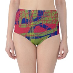 High art by Moma High-Waist Bikini Bottoms