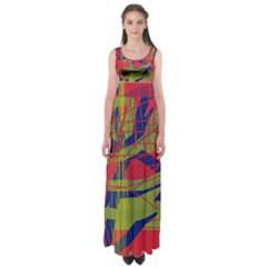 High art by Moma Empire Waist Maxi Dress