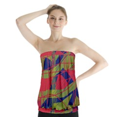 High art by Moma Strapless Top