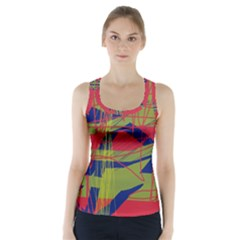 High Art By Moma Racer Back Sports Top
