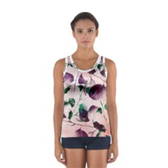 Spiral Eucalyptus Leaves Women s Sport Tank Top