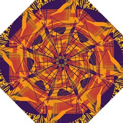 Orange high art Folding Umbrellas