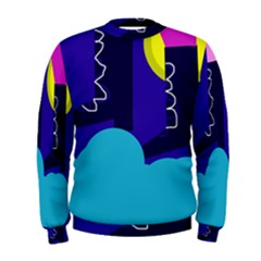 Walking on the clouds  Men s Sweatshirt