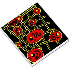 Red and yellow hot design Small Memo Pads
