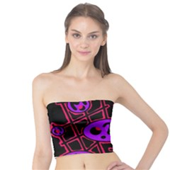 Purple and red abstraction Tube Top