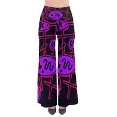 Purple and red abstraction Pants