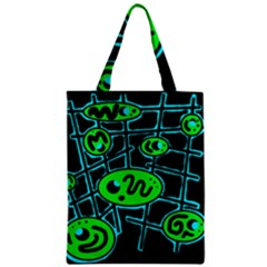 Green and blue abstraction Classic Tote Bag