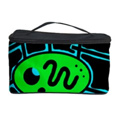 Green and blue abstraction Cosmetic Storage Case