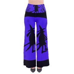 Halloween witch - blue moon Pants
