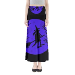 Halloween Witch   Blue Moon Maxi Skirts