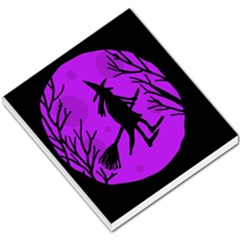 Halloween witch - Purple moon Small Memo Pads