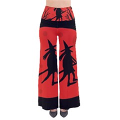 Halloween Witch   Red Moon Pants