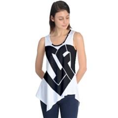 Lift Heart Black Sleeveless Tunic