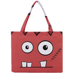 Halloween Frankenstein - Red Mini Tote Bag