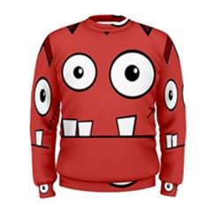 Halloween Frankenstein - Red Men s Sweatshirt