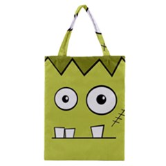 Halloween Frankenstein -Yellow Classic Tote Bag