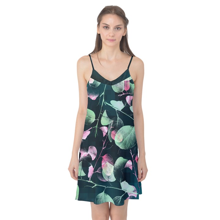 green-border Camis Nightgown