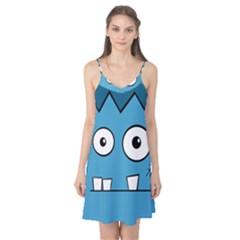 Halloween Frankenstein - Blue Camis Nightgown