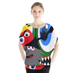 Halloween monsters Blouse