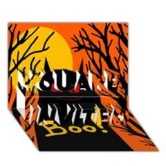 Halloween monster YOU ARE INVITED 3D Greeting Card (7x5)
