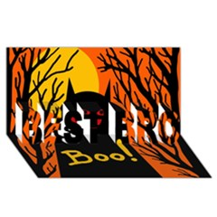 Halloween monster BEST BRO 3D Greeting Card (8x4)