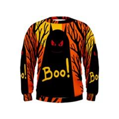Halloween monster Kids  Sweatshirt