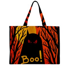 Halloween monster Zipper Mini Tote Bag