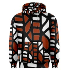 Red decor Men s Pullover Hoodie