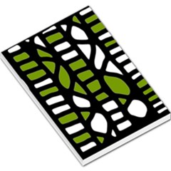 Green decor Large Memo Pads