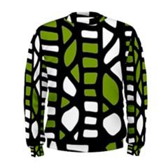 Green decor Men s Sweatshirt