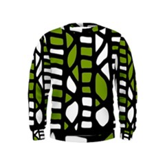 Green decor Kids  Sweatshirt