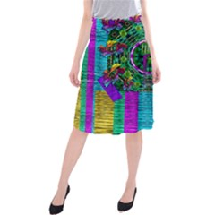 Queen Of The Light Midi Beach Skirt