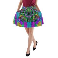Queen Of The Light A Line Pocket Skirt
