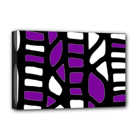 Purple decor Deluxe Canvas 18  x 12