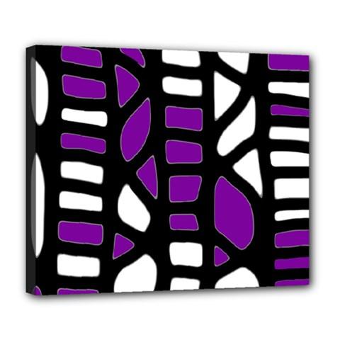 Purple decor Deluxe Canvas 24  x 20