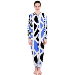 Blue decor OnePiece Jumpsuit (Ladies)