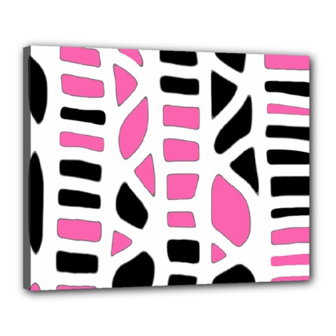 Pink decor Canvas 20  x 16
