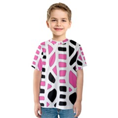 Pink decor Kid s Sport Mesh Tee