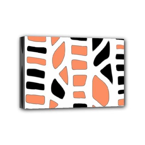 Orange decor Mini Canvas 6  x 4
