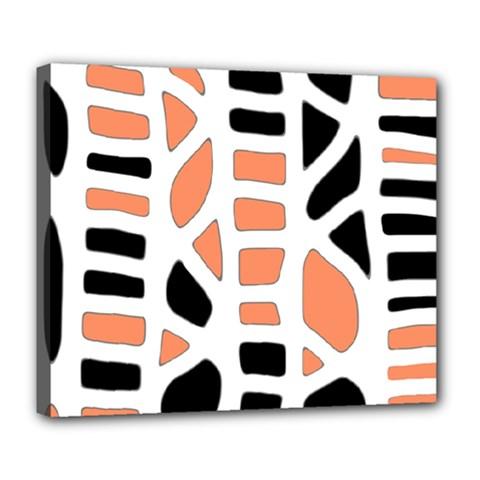 Orange decor Deluxe Canvas 24  x 20