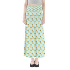 Tropical Watercolour Pineapple Pattern Maxi Skirts