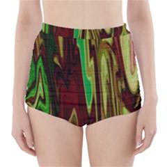 Turmoil High-Waisted Bikini Bottoms