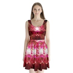 Flaminglilly Split Back Mini Dress