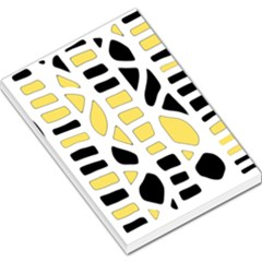 Yellow decor Large Memo Pads