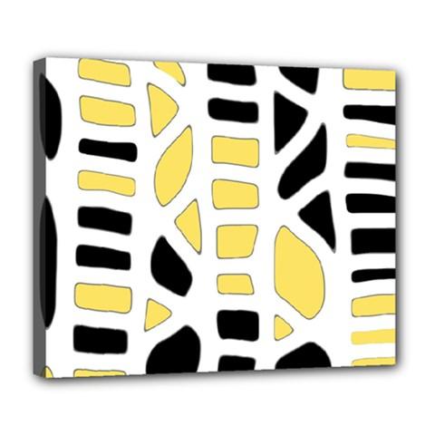 Yellow decor Deluxe Canvas 24  x 20