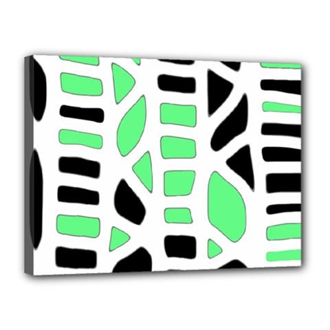 Light green decor Canvas 16  x 12